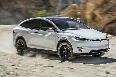 Tesla Model X P100D Dragy performance GPS based vehicle speed distance meter
