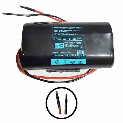 7.2v 2200mAh Lithium Battery Module with Bare Leads