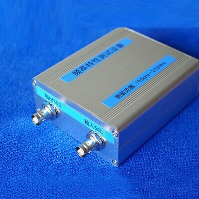 100KHz~200MHz Sweeper Network Analyzer Filter Amplitude Frequency Signal Source