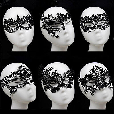 Sexy Lace Mask Masquerade Fancy Costume Party Ball Hollow Flower Eye Mas xl