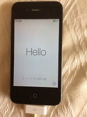 Apple iPhone 4s - 8GB - Black A1387 (CDMA + GSM), Excellent condition.