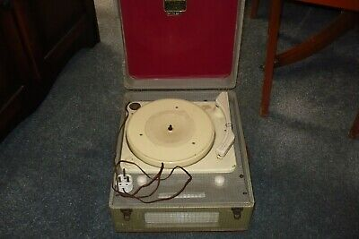 VINTAGE DANSETTE MINOR RECORD PLAYER UNTESTED - Spring 1955