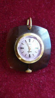1 Pc. Best Russian Amber Caika Ay Watch  Clock In Work Very Good