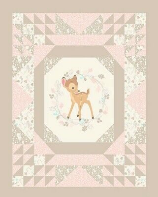 Disney Bambi Convenience Quilt Panel * New * Free Post  *