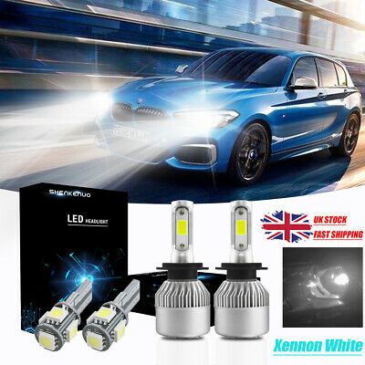 Fits Honda Jazz MK2 100w Super White Xenon HID High//Low//Side Headlight Bulbs Set