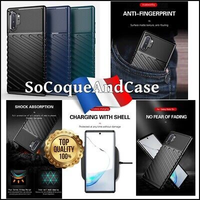 Etui Coque Housse Thunder Series Twill Texture case Samsung Galaxy Note 10, 10+