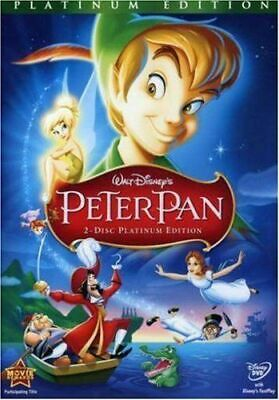 NEW Peter Pan (DVD, 2007, 2-Disc Set, Platinum Edition)