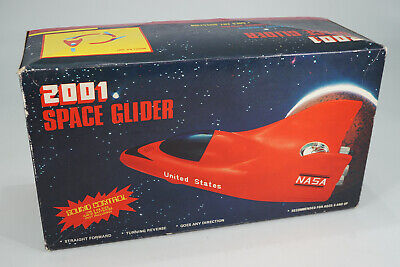 "vintage Space Toy - 2001 "" NASA "" Space Glider Toy in original Box"