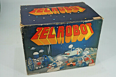vintage Space Toy - Zell Robo Toy - Roboter in original Box