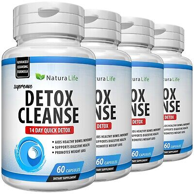 Colon Cleanse Natural Herbal Super Quick Flush Pounds Lose Weight Diet Pills