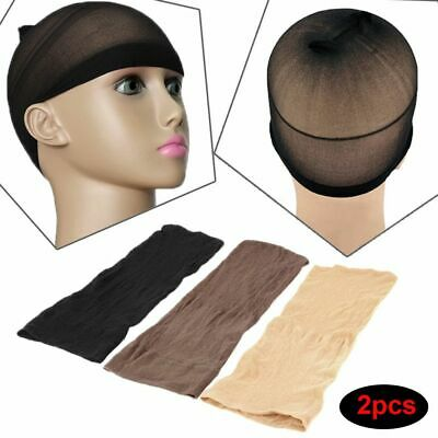 Beauty Unisex Nylon Fashion Snood Hairnet Stretch Mesh Stocking Wig Liner Cap