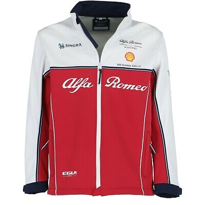 Alfa Romeo Racing F1 2019 Men's Team Softshell Kimi Raikkonen  Free UK Ship!