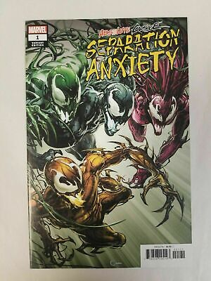 ABSOLUTE CARNAGE SEPARATION ANXIETY #1 1:50 Incentive Variant by Clayton Crain!
