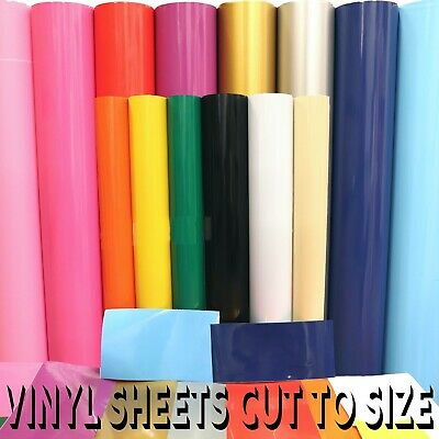 BUY 2 GET 1 FREE Gloss Sign Vinyl Self Adhesive Sticky Back Plastic A4, by Metre