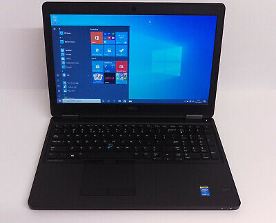 Dell Latitude E5550 Laptop, Core i3-5th Gen, 8GB RAM, 500GB HDD, Windows 10 Pro