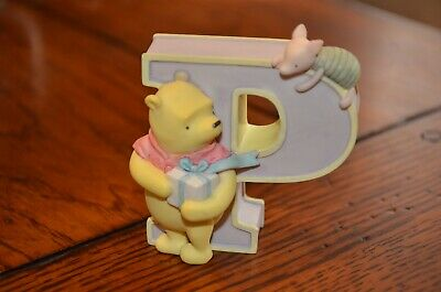 Disney Classic Winnie the pooh Alphabet Letter P Michael and Co