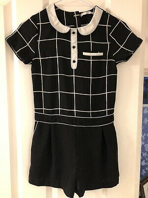 Girls M&S Top With shorts Aged 9-10