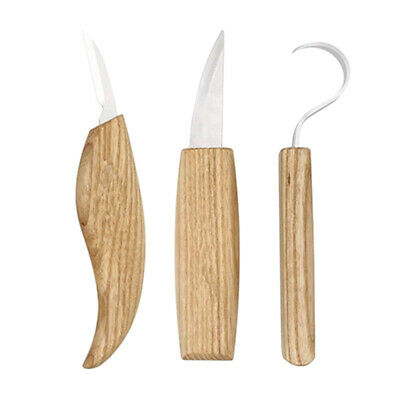3PCS/Set Carving Chisel Durable Portable Engraving Tools Graver Sculpture Knife