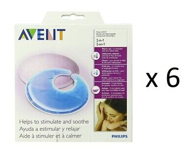 Philips Avent SCF258/02 Thermal Gel Pads 2 Ct (6 Pack)