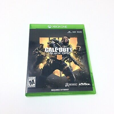 XBOX ONE Call Of Duty Black Ops 4 Video Game