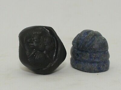 Superb Quality Ancient Carved Lapis Seal - Circa 500Bc  - 0223