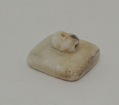 Superb Ancient Carved Hard Stone Seal - Circa 500Bc  - 322