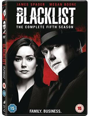 The Blacklist- Complete Fifth Season 5 [Dvd] New & Sealed