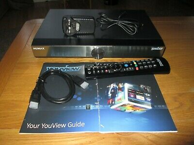 Humax DTR-T2000 500GB DVR YouView Receiver