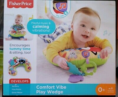 Damaged Box NEW Fisher Price Woodland Comfort Vibe Play Wedge