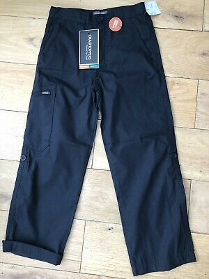 NEW CRAGHOPPERS BOYS NAVY CARGO WALKING TROUSERS AGE 7 YEARS- NOSI DEFENCE 122cm