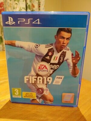 FIFA 19 PS4 PLAYSTATION 4 - Used but in excellent condition (Free P&P)