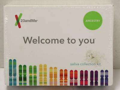 NEW - 23andMe Ancestry Saliva DNA Collection Kit Exp. 2021-05-07