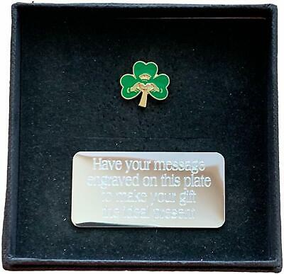 Gift Boxed SAINT PATRICK/'S DAY 2020 Claddagh Shamrock 25mm Lapel Pin Badge