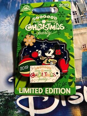 2019 Minnie Mouse Mickey's Very Merry Christmas Party 2019 LE Pin New In Hand