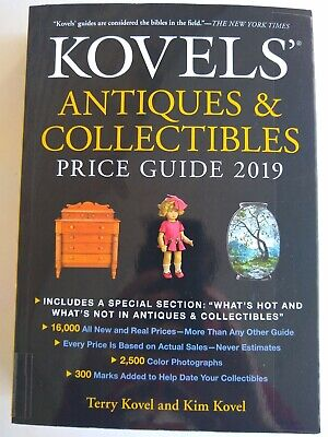 Kovels' Antiques & Collectibles Price Guide 2019 Paperback EUC