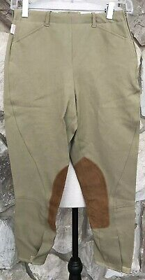 The Tailored Sportsman Girl's English Riding Habit Pants Sz 16 Beige Tan