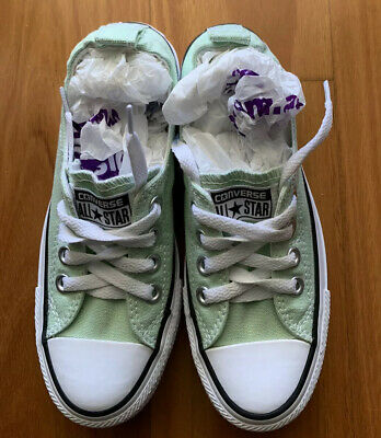Converse Shoes Mint Green Size UK 3