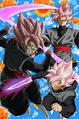 Dragon Ball Super Goku 2018 Movie Poster 12in x 18in Free Shipping