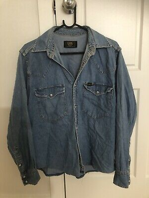 Vintage Lee Denim Shirt