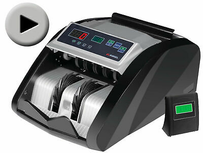 Money Bill Cash Counter Bank Machine Uv-Mg Counterfeit Currency Counting