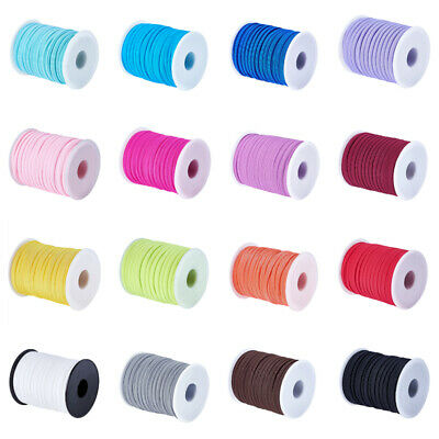 22yds/Roll Elastic Spandex Nylon Threads Stretch Cords Rope DIY Face Masks 5mm
