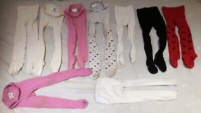 Collection Of Girls Tights Age 2-3 Years Incl 4x John Lewis