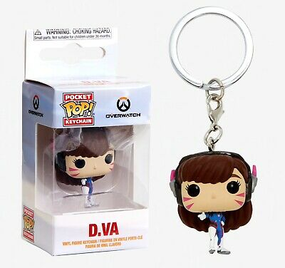 Funko Pocket Pop Keychain: Overwatch - D.Va Vinyl Figure Keychain Item #32792