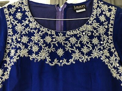 Girls Teen Indian Salwar Kameez Trouser Suit Approx Size 8-10 By Jaan