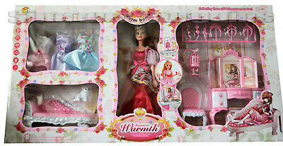 Warm Home Doll and Furniture Set with Light & Sound XMAS GIFT NEW