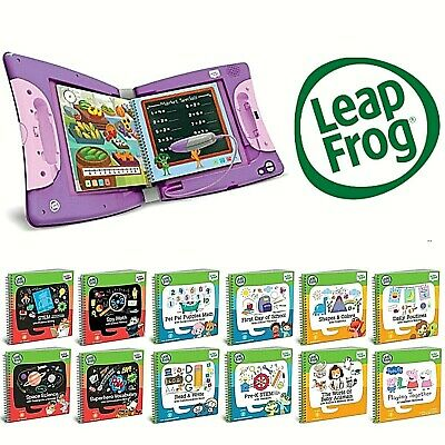 Leapfrog LeapStart Books Educational Replayable Various Activities Choose Yours