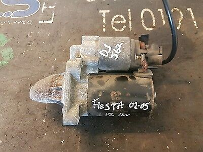 Ford Fiesta Manual Starter Motor