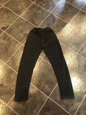 Firetrap Kids Boys Black Jeans Junior Skinny 13 Years Trousers