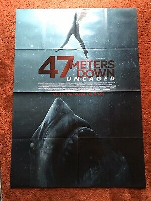 47 Meters down: Uncaged Kinoplakat Poster A0, 84x119cm