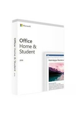 Microsoft Office Home and Student 2019 genuine Product key for PC